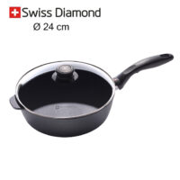 padella alta Swiss Diamond 24 cm