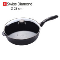 padella alta Swiss Diamond 28 cm