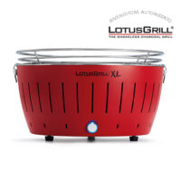 Lotus grill XL rosso