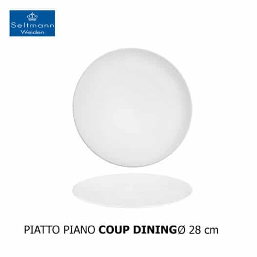 PIATTO PIANO COUP DINING 28CM