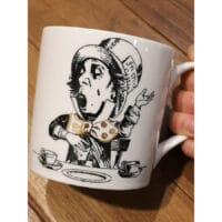 Tazza Mug KitchenCraft Alice in Wonderland Mad Hatter