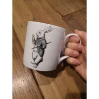 Tazza Mug KitchenCraft Alice in Wonderland coniglio