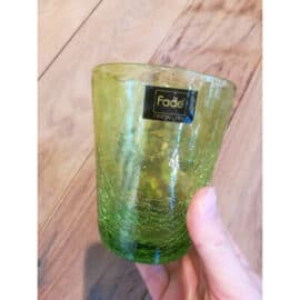 FADE ICE VERDE BICCHIERE