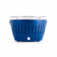 barbecue a carbonella lotus grill blu